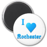 Rochester -- Azul de cielo Imán Para Frigorifico