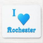 Rochester -- Azul de cielo Tapete De Ratón