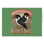 Rochester Beauty & Dot.Ca Greeting Card