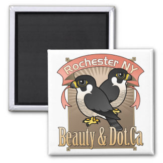 Rochester Beauty & Dot.Ca Magnet