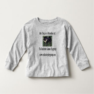 rochester canine playgroup zena toddler t-shirt