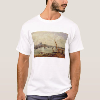 Rochester Cathedral and Castle, c.1820-30 (oil on T-Shirt