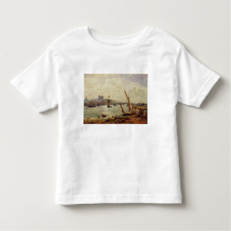 Rochester Cathedral and Castle, c.1820-30 (oil on Toddler T-shirt