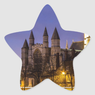 Rochester Cathedral Star Sticker