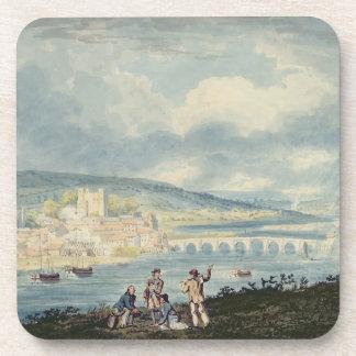 Rochester, del norte, c.1790 (w/c sobre el lápiz posavasos de bebida