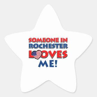 rochester designs star sticker
