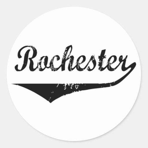 Rochester Etiqueta Redonda