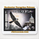 Rochester falcons mousepad