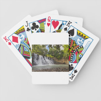 Rochester Falls waterfall in Souillac Mauritius Bicycle Playing Cards