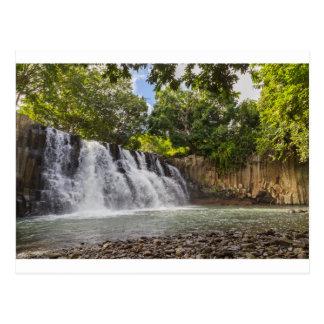 Rochester Falls waterfall in Souillac Mauritius Postcard
