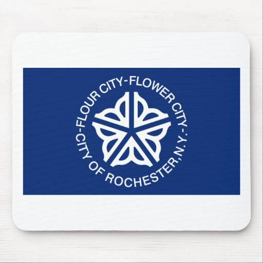 Rochester Flag Mouse Pad