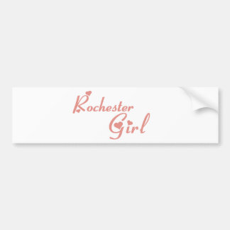 Rochester Girl tee shirts Bumper Sticker