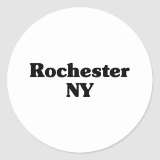 Rochester Hills  Classic t shirts Classic Round Sticker
