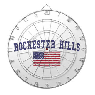 Rochester Hills US Flag Dart Boards
