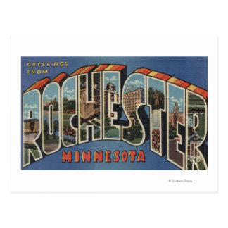 Rochester, Minnesota - escenas grandes de la letra Postales