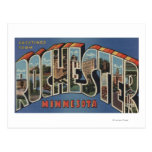 Rochester, Minnesota - Large Letter Scenes Postcard