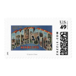 Rochester, Minnesota - Large Letter Scenes Stamps