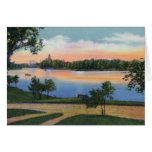 Rochester Minnesota Silver Lake Greeting Card