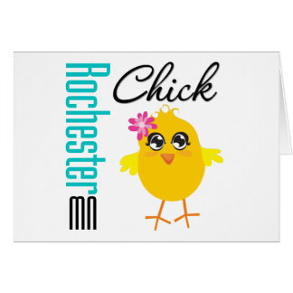 Rochester MN Chick Card