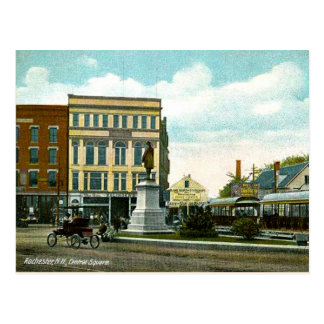 Rochester, New Hampshire, 1909 vintage postcard