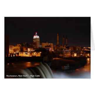 Rochester, New York    'High Falls' Greeting Card