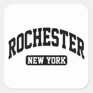 Rochester New York Square Sticker