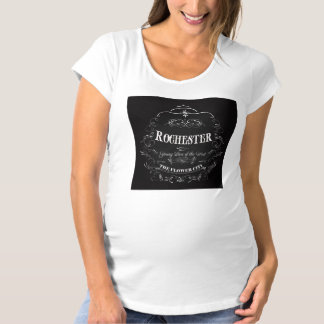 Rochester New York - The Flower City Maternity T-Shirt
