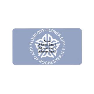 Rochester, New York, United States Custom Address Labels