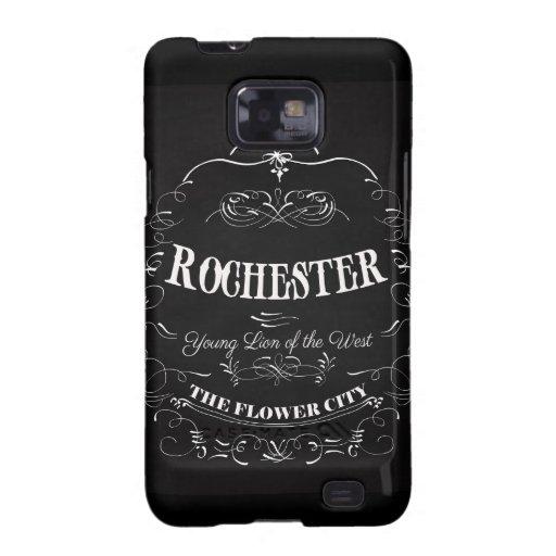 Rochester Nueva York - la ciudad de la flor Galaxy S2 Carcasas