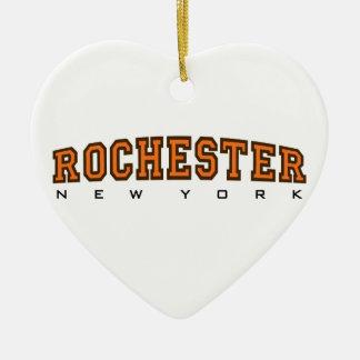 Rochester, Nueva York - litros Adorno De Navidad