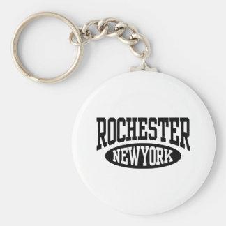 Rochester Nueva York Llavero Redondo Tipo Pin