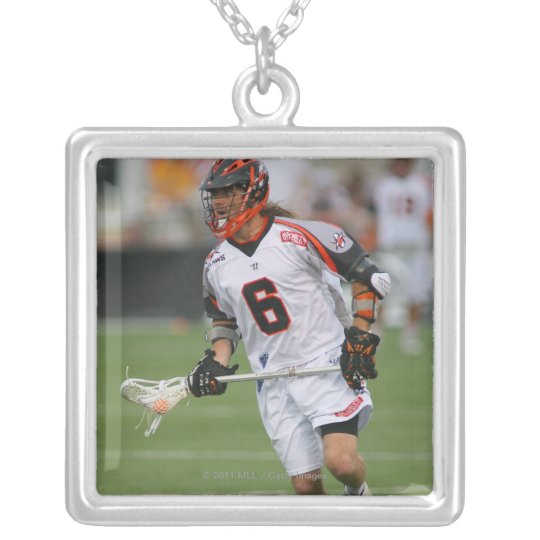 ROCHESTER, NY - JULY 23:  Brian Langtry #6 Silver Plated Necklace