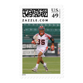 ROCHESTER, NY - JULY 23: Nate Watkins #35 2 Postage Stamp