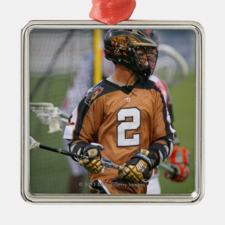 ROCHESTER, NY - JULY 23:  Ned Crotty #2 3 Metal Ornament