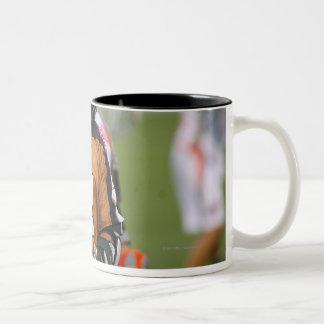 ROCHESTER, NY - JULY 23:  Ned Crotty #2 3 Two-Tone Coffee Mug