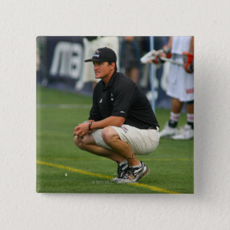 ROCHESTER, NY - JULY 23: Tom Slate, head coach Pinback Button