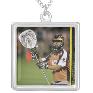 ROCHESTER, NY - JUNE 10: John Galloway #16 Silver Plated Necklace