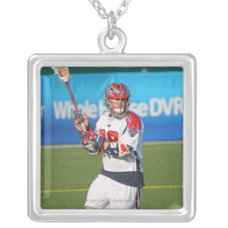 ROCHESTER, NY - JUNE 18: Max Quinzani #88 2 Silver Plated Necklace