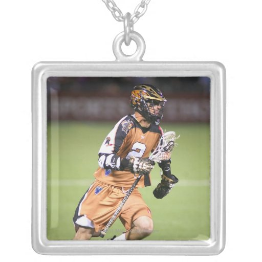 ROCHESTER, NY - JUNE 18:  Ned Crotty #2 Square Pendant Necklace