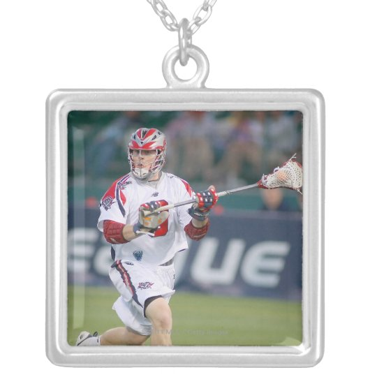 ROCHESTER, NY - JUNE 18:  Pat Heim #3 2 Silver Plated Necklace
