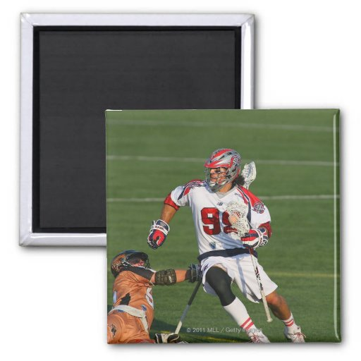 ROCHESTER, NY - JUNE 18:  Paul Rabil #99 2 Inch Square Magnet