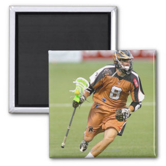 ROCHESTER, NY - JUNE 24: Dan Groot #8 2 Inch Square Magnet