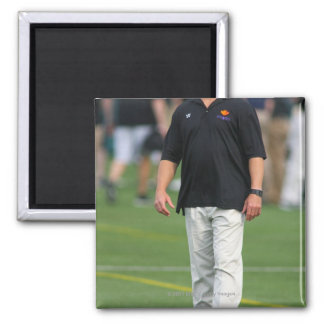 ROCHESTER, NY - JUNE 24: Gary Gait, assistant 2 Inch Square Magnet