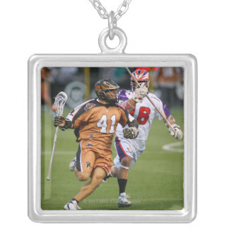 ROCHESTER, NY - JUNE 24: Jordan Levine #41 2 Silver Plated Necklace