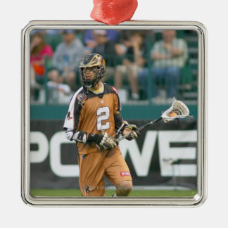 ROCHESTER, NY - JUNE 24:  Ned Crotty #2 3 Metal Ornament