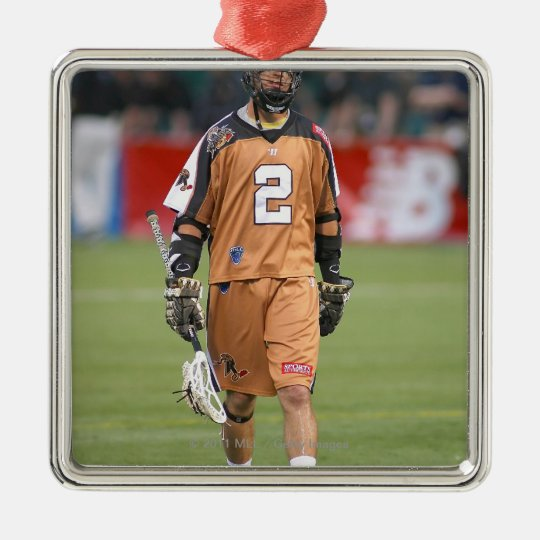 ROCHESTER, NY - JUNE 24:  Ned Crotty #2 Metal Ornament