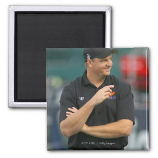 ROCHESTER, NY - JUNE 24:  Regy Thorpe, head 2 Inch Square Magnet