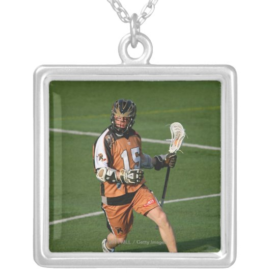 ROCHESTER, NY - MAY 21: Brian Clayton #15 2 Silver Plated Necklace
