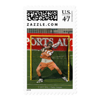 ROCHESTER, NY -MAY 21: Brian Clayton #15 Postage Stamp