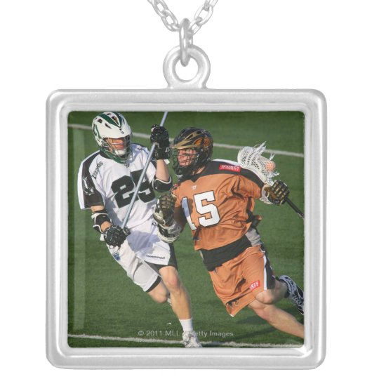 ROCHESTER, NY - MAY 21:  Brian Clayton #15 Silver Plated Necklace